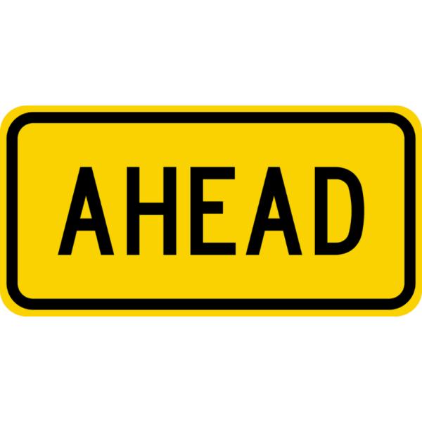 Ahead (W16-9P)