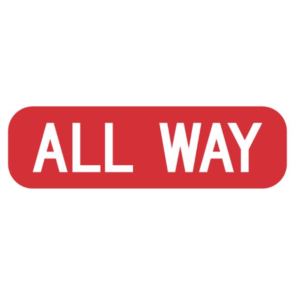 All Way (R1-3P)