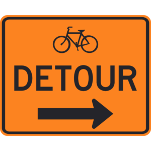 Bicycle Detour (M4-9c)