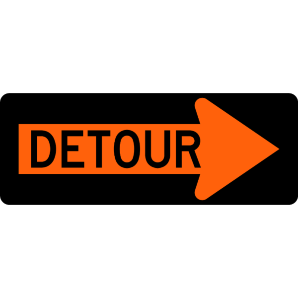 Detour Arrow (M4-10R)
