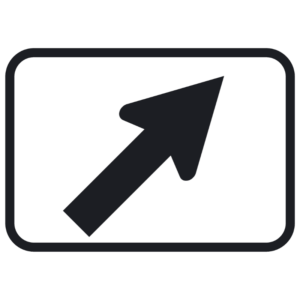 Diagonal Turn Arrow (M6-2)