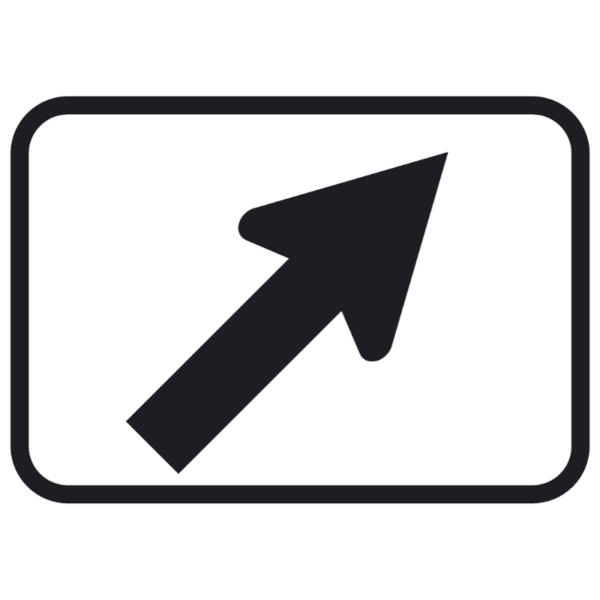 Diagonal Turn Arrow (M6-2)