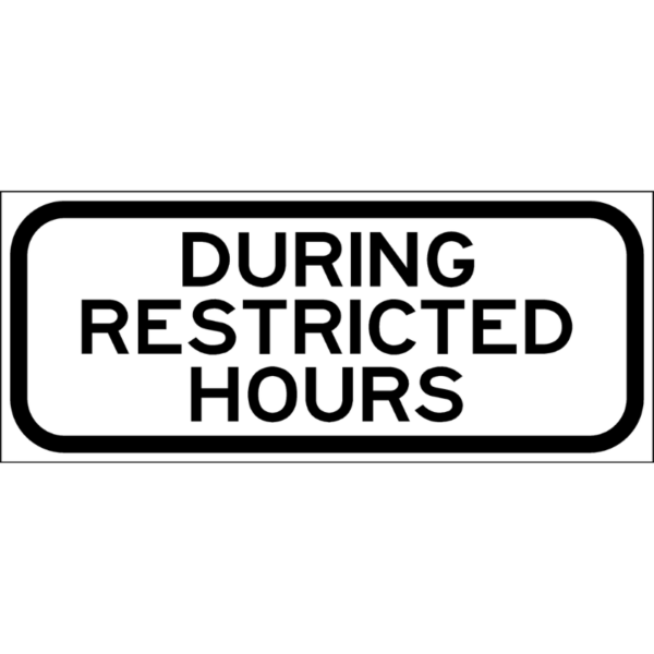 During Restricted Hours (S4-H8P)