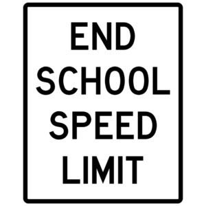 End School Speed Limit (S5-4)