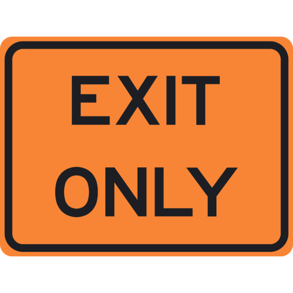 Exit Only (E5-3)