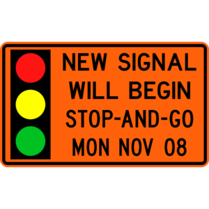 New Signal Will Begin (W24-H2a)