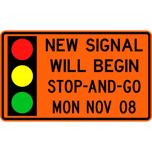 New Signal Will Begin (W24-H2a)