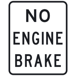 No Engine Brake (R20-H1)