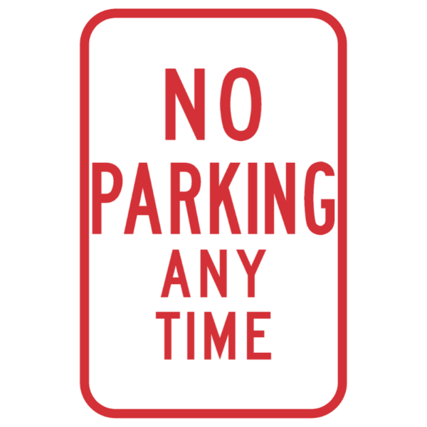 No Parking Any Time (R7-1)