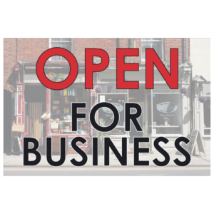 Open For Business (Banner)
