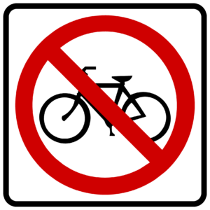 No Bicycle (R5-6)
