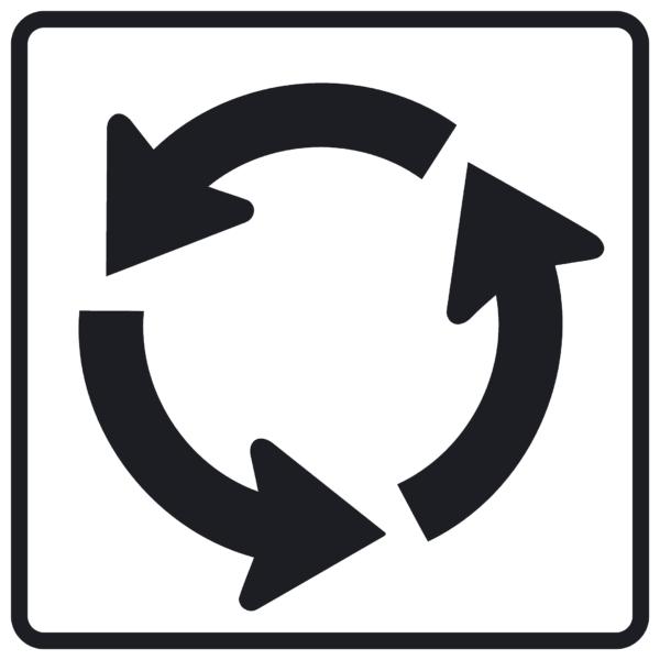 Roundabout Circle (R6-5P)