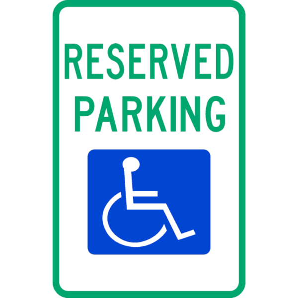 Reserved Parking (R7-8)