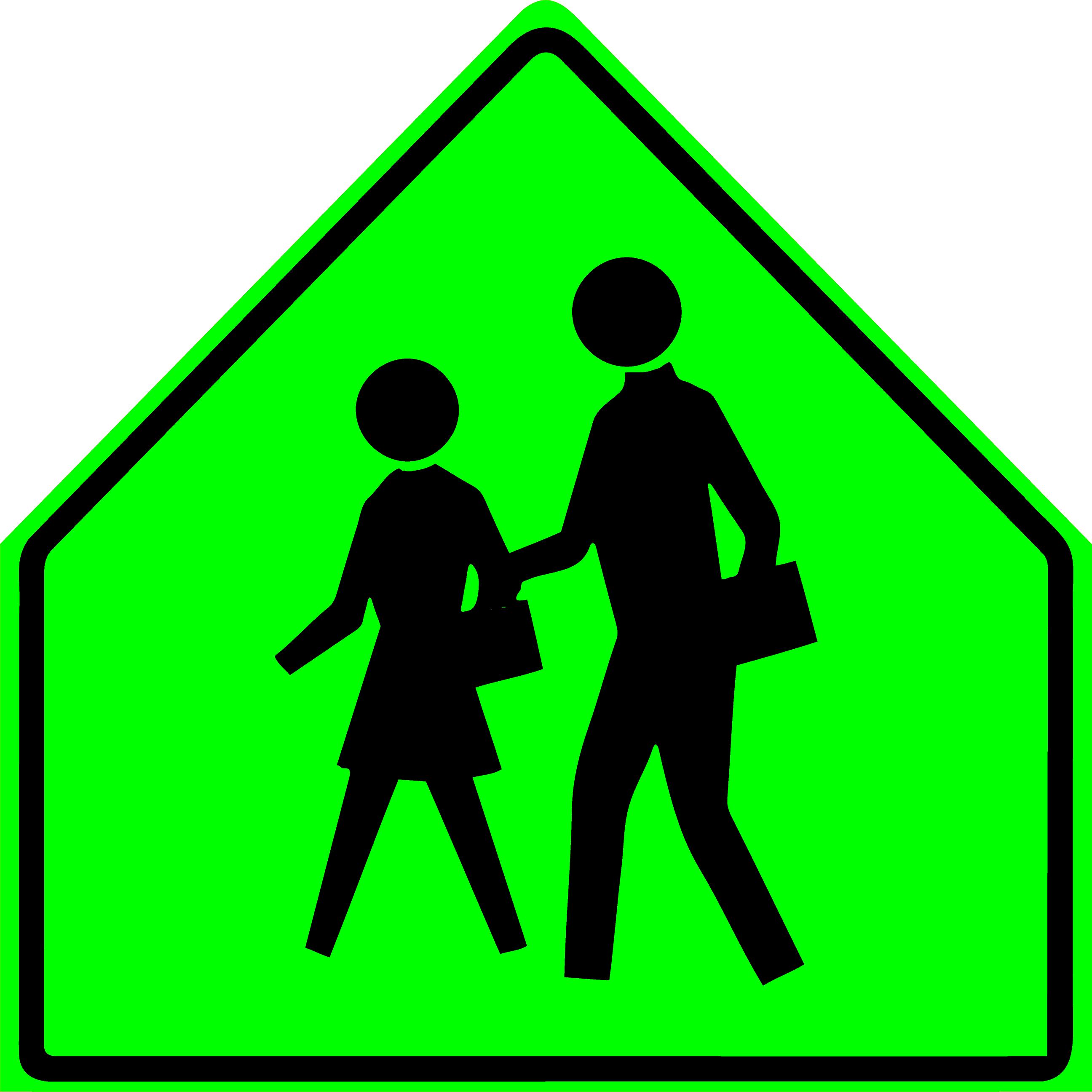School Sign (S1-1)