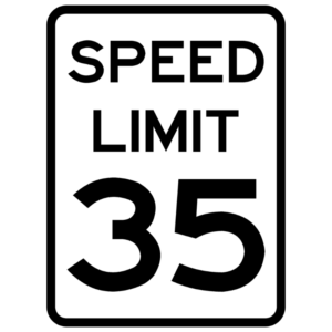 Speed Limit (R2-1)