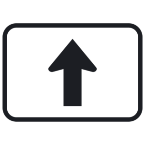 Straight Ahead Arrow (M6-3)