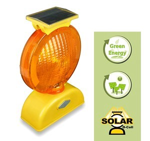 Type A/C Solar Barricade Light (D-Cell)