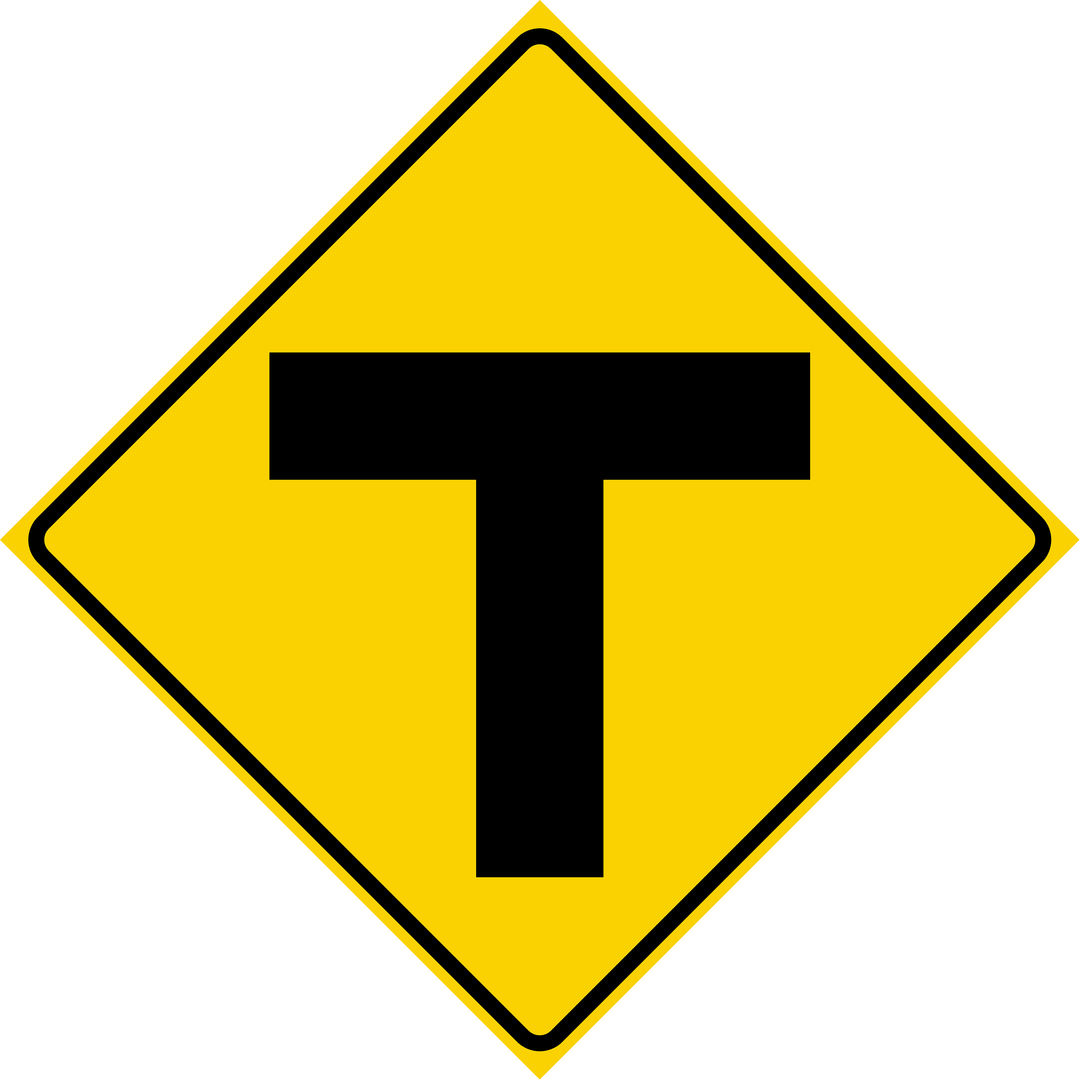 T Intersection (W2-4)
