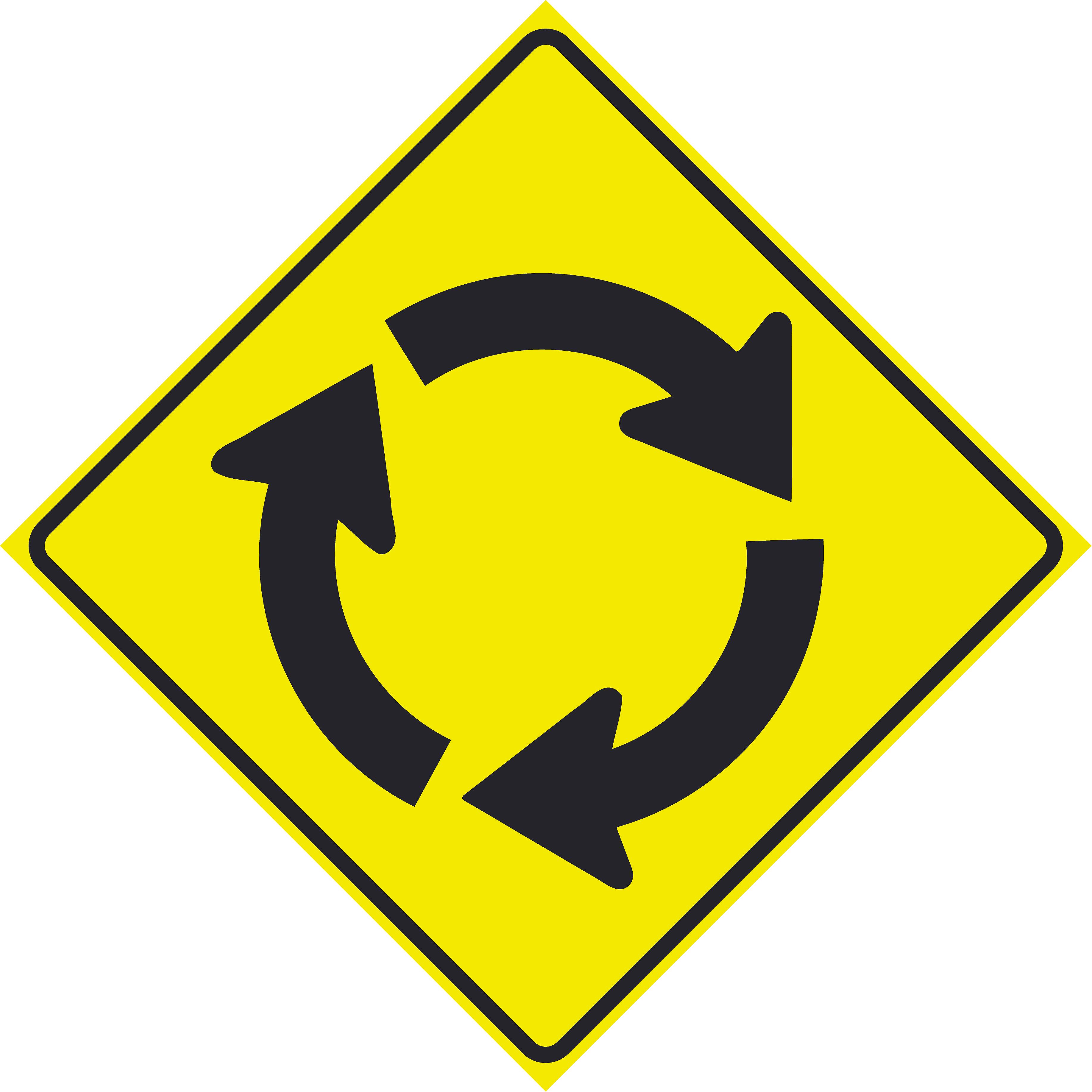 Roundabout (W2-6)