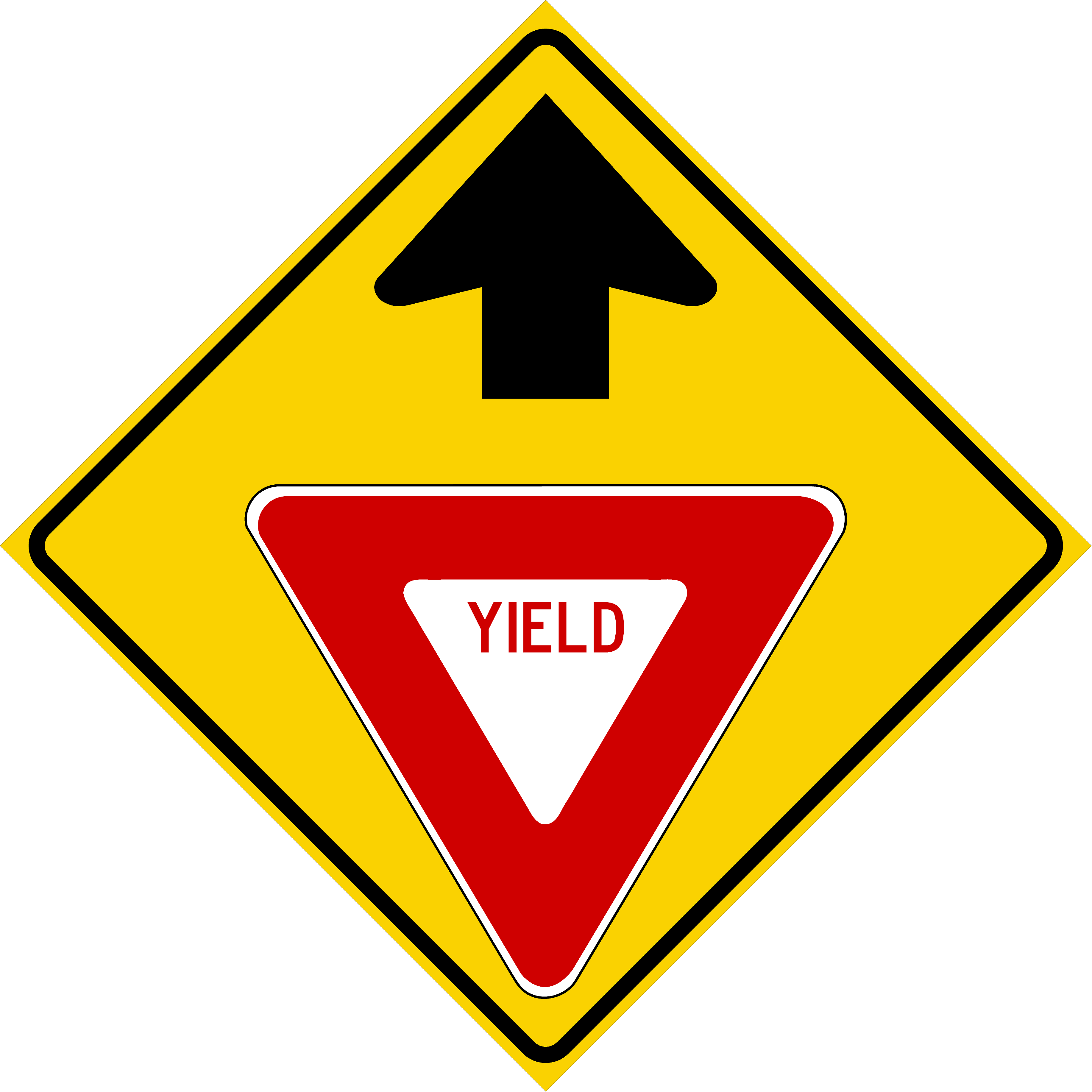 Yield Ahead (W3-2)