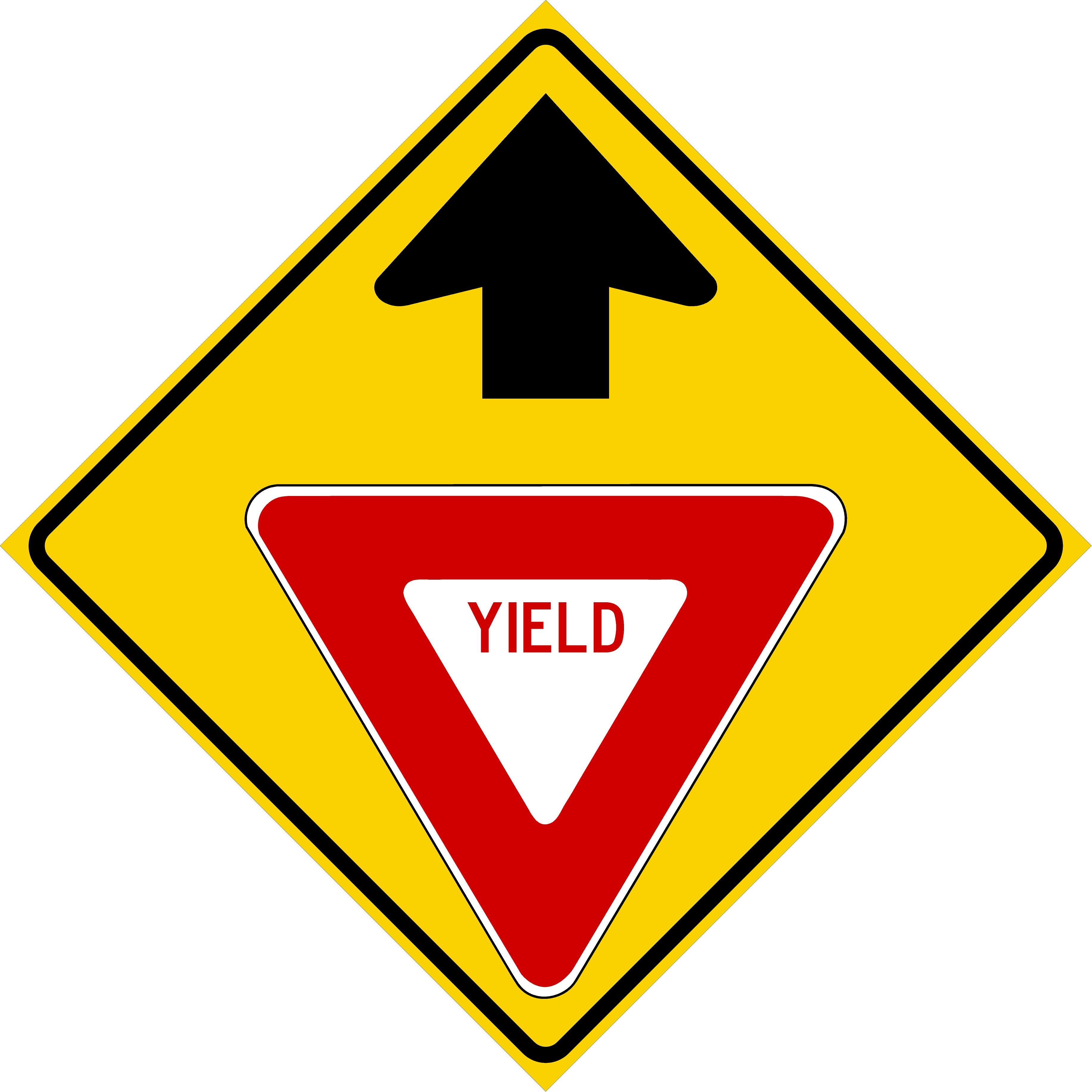 Yield Ahead (W3-2)