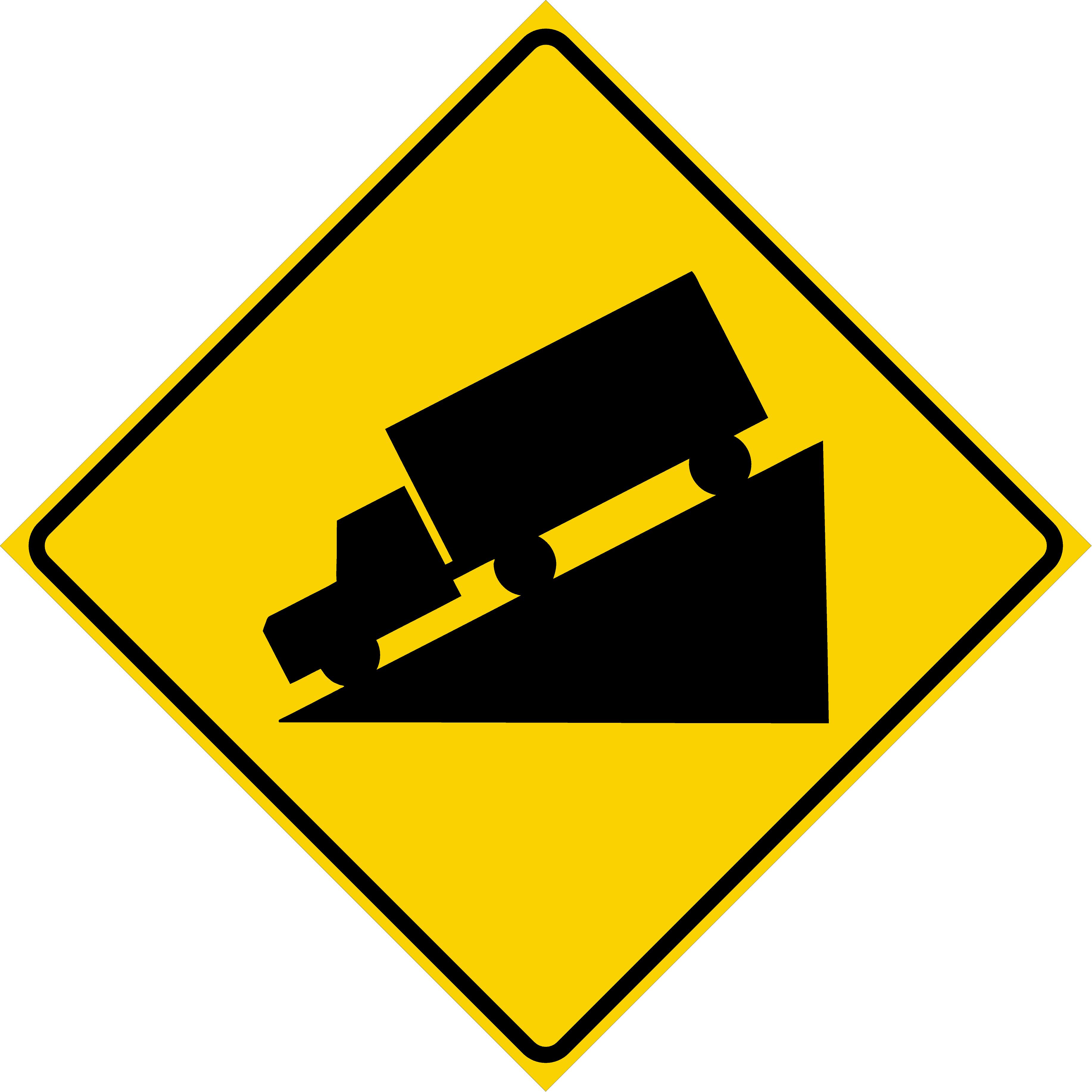 Hill Symbol (W7-1)