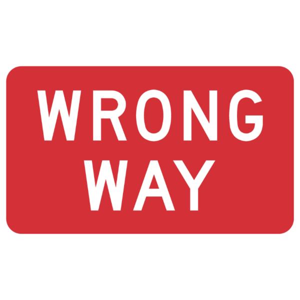 Wrong Way (R5-1a)